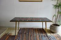 Sold/Tile Top Coffee Table/Wave from Belgium