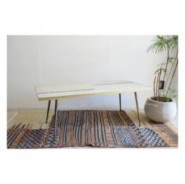Tile Top Coffee Table/White from Belgium