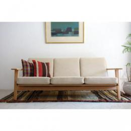 Sold 3seater Sofa/GE-290/3/Oak