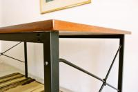 Sold/Dining Table/Steel Leggs
